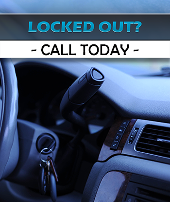 Locked out of your car? Call today!